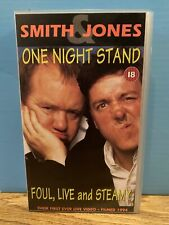 Smith & Jones One Night Stand Foul, Live, and Steamy (VHS) - Free UK Postage
