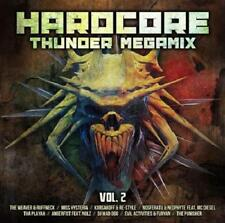 HARDCORE THUNDER MEGAMIX 2 = Ruffneck/Playah/Neophyte/Angerfist..=2CD= GABBER !!