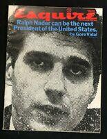 ESQUIRE MAGAZINE - June 1971 - RALPH NADER / Erich Segal / RON MCKUEN COMICS