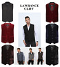 Lawrance Cliff Premium Quality Men New Formal WaistCoat Tuxedo Special Occasions