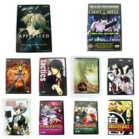 Anime DVDs Lot of 10! Yu-Gi-Oh, InuYasha, Dragon Ball, AppleSeed, Tactics & More