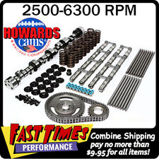 """HOWARD'S BBC Chevy Retro-Fit Hyd Roller 286/298 635""""/635"""" 112° Cam Camshaft Kit"""