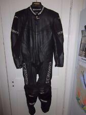 Teknic Chicane 1 PC Black Suit US 38 / Euro 48 Leather Race Suit NEW!