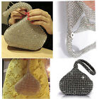 Rhinestones Women's Evening Clutch Bag Party Wedding Handbag Purse GA