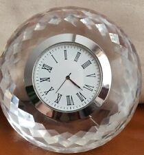 Dorma Glass Mantel Clock