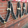 2M Chunky Xmas Tinsel Garland Home Party Decor Christmas Tree Ornaments UK SOLD*