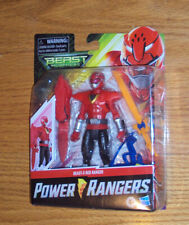 "Hasbro Power Rangers Beast Morpher Beast-X Red Ranger 5"" Action Figure"