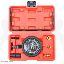 Engine Fuel Vacuum and Pump Pressure Gauge Tester Kit Valve Check Carburettor