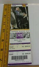 Los Angeles Lakers vs Minnesota 5-25-2004 playoffs ticket Kobe 22pt Shaq 22p-17r