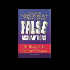 False Assumptions Christian Hardcover Dr Henry Cloud John Townsend FREE SHIPPING