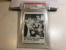 1964 The Munsters #43 Grandpa, Have You Seen My White Horse? GRADED PSA 7- NM
