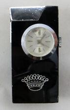 Accendino vintage a benzina con orologio Rivo Swiss Petrol Lighter Watch Clock