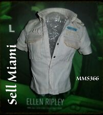 1/6 Hot Toys Aliens Ripley MMS366 White Colored Shirt