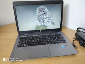 """HP EliteBook Folio 1040 G2 14"""" Laptop i5-5300U 2.3GHz 4GB RAM 256GB SSD W10p LTE"""