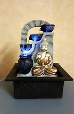 Juliana bouddha fontaine avec lumière led-intérieur de l'eau fonction 240v secteur