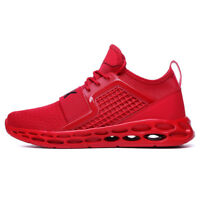 Men's Running Shoes Breathable Outdoor High Top Sneakers Sports Big Size Fashion