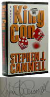 Stephen J. Cannell KING CON Signed 1st 1st Edition 1st Printing