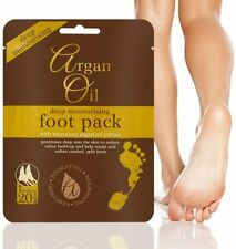 Exfoliating Peel Renewal Foot Mask Baby Soft Feet Remove Dead Skin Argan Oil UK
