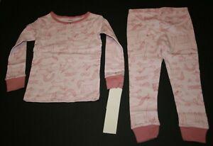 NEW Carter's 2 Piece PJs Girls Pink Unicorn Pajamas  2 3 4 5 6 7 8 10 12 14 yr