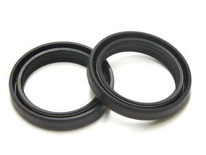 Front fork 47mm oil seals pair Honda CRF250R 4st 2004-2009