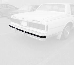 80-86-90 Chevrolet Chevy Caprice Rear Bumper Impact Rub Strip Cushion 7037-044