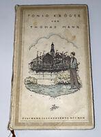 Thomas Mann Tonio Kröger Erich M. (illus.) Erstausgabe