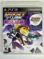 Ratchet & Clank: Into the Nexus PS3 (Sony PlayStation 3, 2013) VGC Action Game