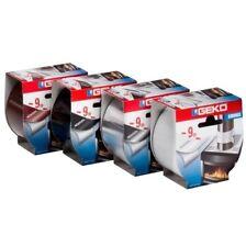 Nastro Adesivo Alluminio Marrone per Alte Temperature Geko Smoke _ sigilla stufe