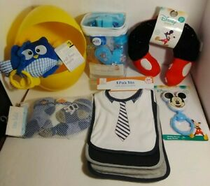 Newborn Grooming Kit Disney Baby Boy Mickey Mouse Gifts  Lot of 7  👀PICTURES