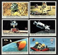 Man On The Moon Landing Space Cards Set 2 1972 Liebig Apollo Landing Craft Walk