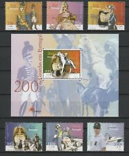 [Portugal 2001 - GNR-Security Services] the Souv.Sheet and set MNH