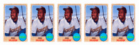 (5) 1993 Sports Cards #85 Greg Vaughn Baseball Card Lot Milwaukee Brewers