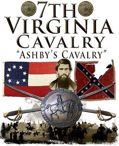 """7th Virginia Cavalry, """"Ashby's Cavalry""""  American Civil War 11 X 14 Print"""