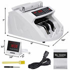 Counting Machine Counterfeit Money Bill Counter Detector UV & MG Cash for Bank