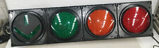Green, Orange and Red Traffic Light with Grenn Arrow. Brand New! Man Cave