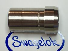 """1- Swagelok Stainless Port Connector, 1"""" Tube, SS-1611-PC"""