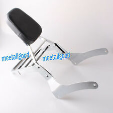 Sissy Bar Backrest Luggage Rack for Kawasaki Vulcan VN900 Classic 1996-2012