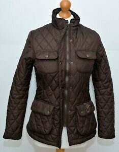 Rydale Quilted Brown Jacket Size XS
