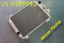 70mm Radiator Fit Ford model A 1930-1931 w/Chevy 350 V8 engine Aluminum alloy