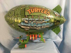 Teenage Mutant Ninja Turtles TMNT TURTLE BLIMP Complete w/ Bombs Holds Air