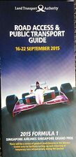 F1 Singapore Road Access & Public Transport Guide 2015