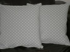 """18"""" CUSHION COVER MADE WITH JOHN LEWIS PROVENCE 'GREY' FABRIC--"""