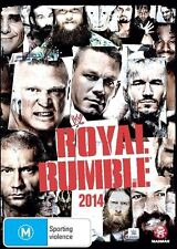WWE - Royal Rumble 2014 (DVD, 2016) brand new sealed free post!