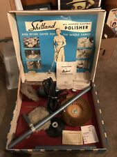 Rare Shetland Electric Polisher All Purpose Buffer Vintage