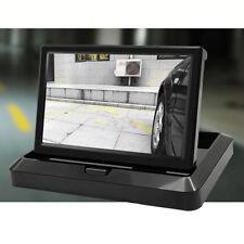 "5"" HD Car LCD Dash Monitor Rear View Backup Display for Reverse Parking Camera"