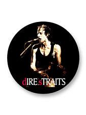 "Pin Button Badge Ø25mm 1"" Dire Straits Rock UK Knopfler Illsley"