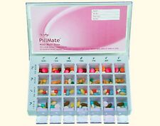 PillMate Maxi Multi-Dose Dispenser - 28 Compartment - (7 Days X 4 Times a Day)