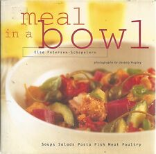 Meal in a Bowl Elsa Petersen Schepelern hardcover book new