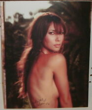 LEILANI DOWDING - AUTOGRAPHED 8X10 PHOTO - ON CARD STOCK- PAGE 3 GIRL