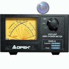 OPEK - UHF/VHF SWR - POWER METER - VHF 140-160Mhz - UHF 420-460Mhz